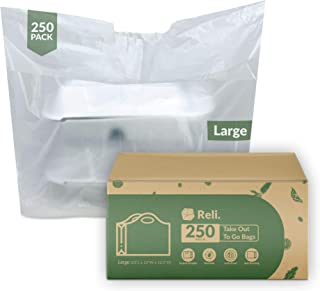 Sponsored Ad - Reli. To Go Bags/Take Out Bags (250 Count Bulk)(Large 23