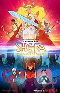 HandTao She-Ra and The Princesses of Power 2018 Movie Fabric Cloth Wall Poster Photo Print 20x13 Inch