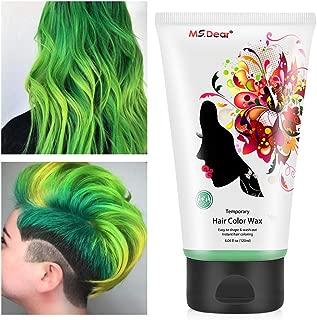 money green hair color