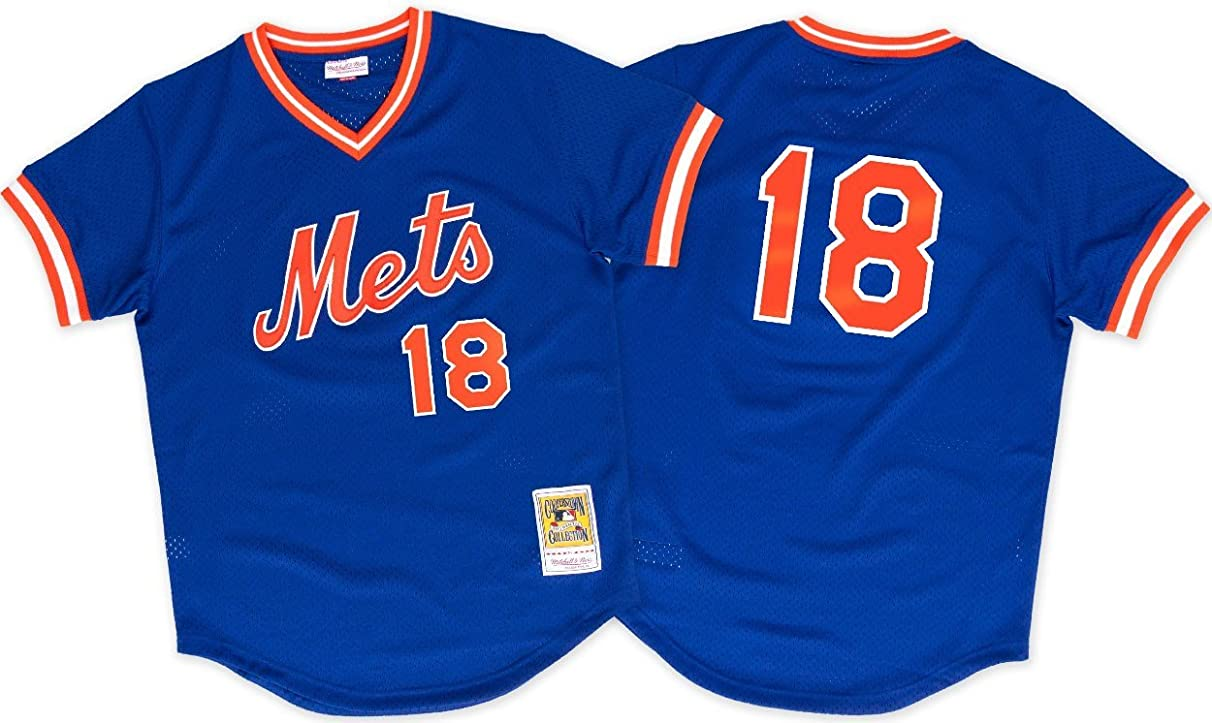 Mitchell & Ness Expos Authentic BP Jersey