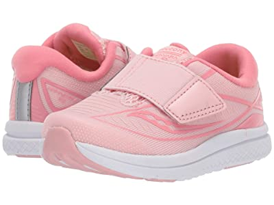 Saucony Kids Kinvara 10 Jr (Toddler/Little Kid) (Rose) Girl