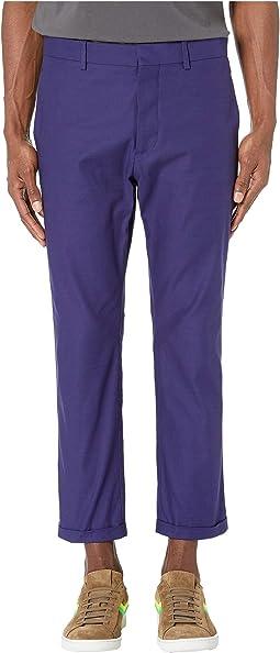 Compact Cotton Twill Pants