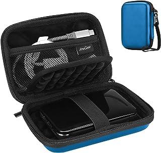 Procase Portable Hard Drive Case for Canvio Basics Western Digital WD Elements My Passport Seagate Portable Backup Plus Sl...