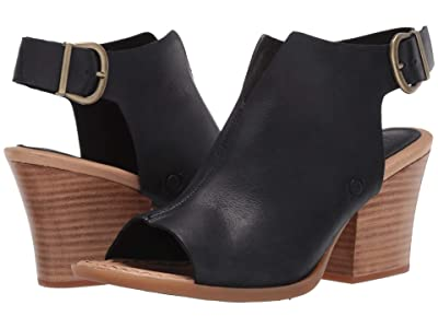 Born Moraine (Black Full Grain) High Heels