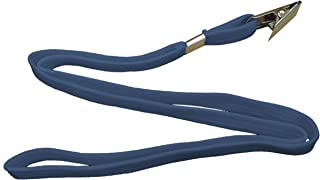 علاقة كروت شخصية بمشبك، علبة عبوة 50 حبة، لون أزرق من بايندرماكس ST-803