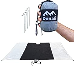 Waterproof Outdoor Blanket For Beach, Backyard or the Back Country. Perfect Rainfly or Tarp (XL 60