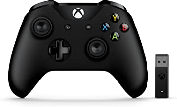 Microsoft Xbox Controller (mit Wireless Adapter für Windows) schwarz