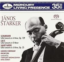 Janos Starker: Cello Concertos of Schumann, Lalo, Saint-Saëns