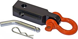 Rigid Hitch Enhanced Tow Strap Shackle Mount (TSM-125-D) for 1-1/4