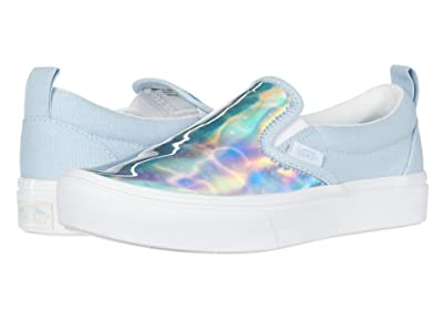 Vans Kids Autism Awareness ComfyCush Slip-On PT (Big Kid) ((Autism Awareness) Sensory/Dream Blue) Girls Shoes