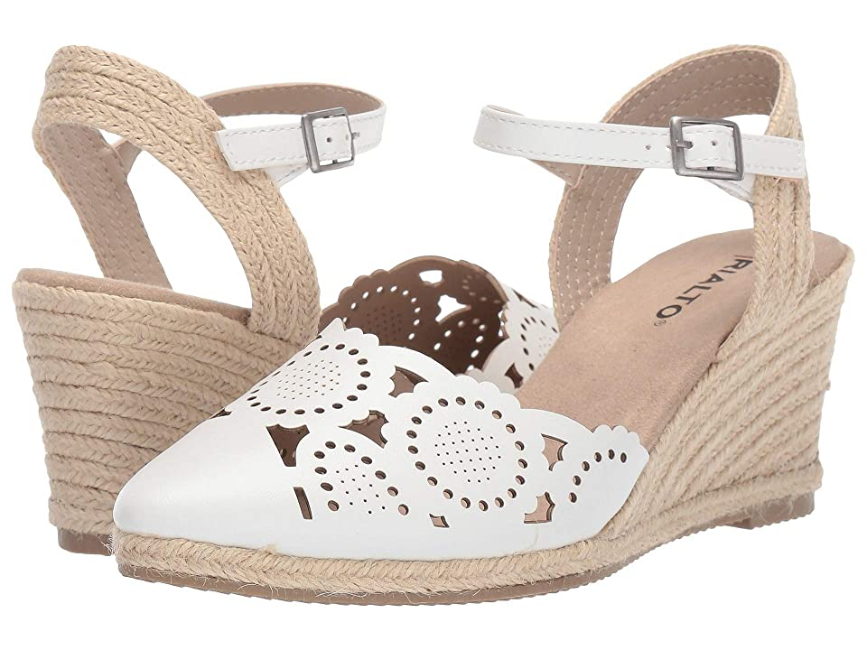 Rialto Coya (White Smooth) Women's Wedge Shoes