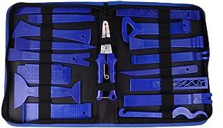 Garneck Kit de ferramentas azul para remoção de carro, ferramenta de remoção de carro, kit de ferramentas de remoção de áu...