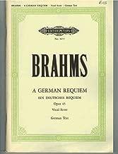 German Requiem Op.45