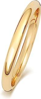 Anello Fede Nuziale Uomo/Donna 2mm in Oro giallo 9k (375) WJS189089KY