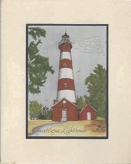 Print of the Assateague Lighthouse