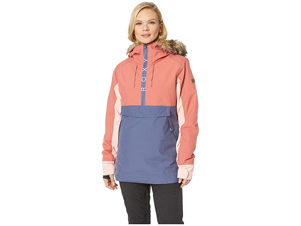 Roxy Shelter 10K Jacket (Dusty Cedar) Women