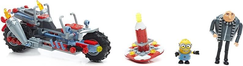 Mega Construx Despicable Me 3 Gru's Water Motorcycle Building Set