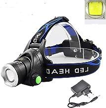 Hoofdlamp draagbare zoom hoofd lamp vissen schijnwerper camping schijnwerper wandelen zaklamp fiets licht fakkel geen batt...