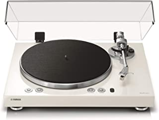 Yamaha TT-N503 (MusicCast Vinyl 500) Turntable with Bluetooth, AirPlay and Alexa Compatibility, White
