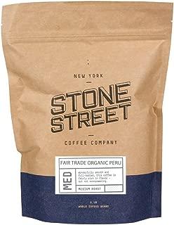 100% FAIR TRADE ORGANIC PERU | Whole Bean Coffee | 1 Lb Bag | Medium Full Body Roast | Single Origin Premium Quality (package may vary)