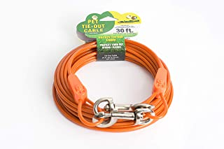 IntelliLeash Products Tie Out Cable for Dogs (90 lb/30')