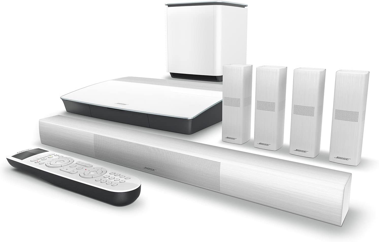Works with Alexa Bose Lifestyle 600 Home Entertainment System ...