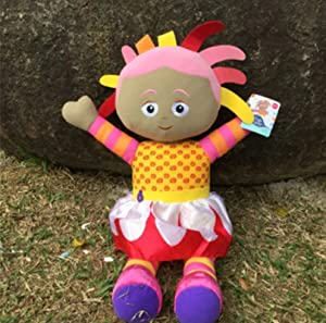 Linrunzi in The Night Garden Upsy Daisy Plush Toy Dolls, Cartoon Cute Soft Plushies, Stuffed Animal Toys, Birthday for Children, 30Cm