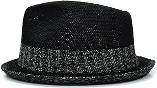 [クリサンドラ] 帽子 メンズ ハット 大きいサイズ 中折れハット ポリエステル サーモコンビ マニッシュ ハット フリーサイズ カジュアル ブランド