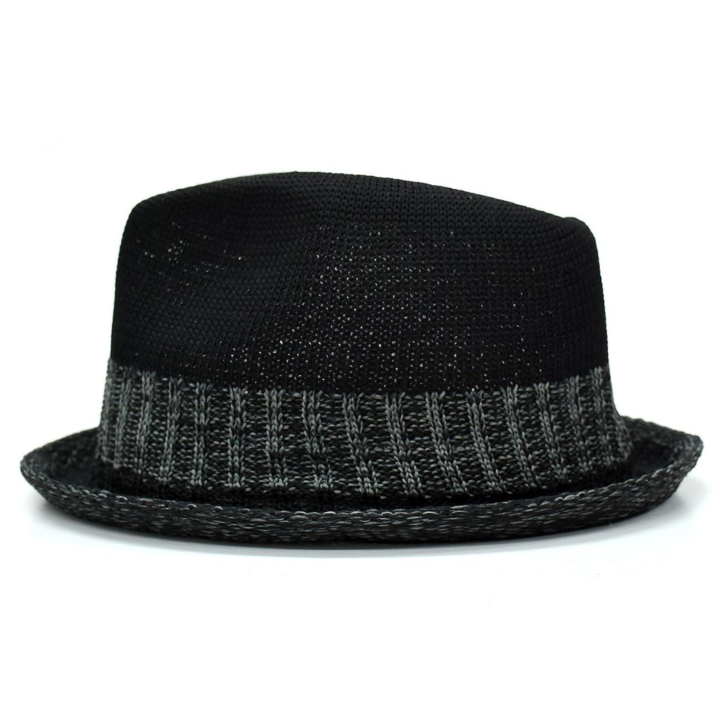 名前を作る召喚する谷[クリサンドラ] 帽子 メンズ ハット 大きいサイズ 中折れハット ポリエステル サーモコンビ マニッシュ ハット フリーサイズ カジュアル ブランド