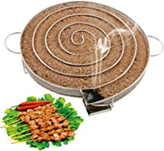 Liwes Stainless Steel Cold Smoke Generator for BBQ Grill or Smoker Wood Chips dust Hot and Cold Smoking Salmon Meat Burn