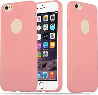 95f57e4f9f3 Cadorabo Funda para Apple iPhone 6 / iPhone 6S en Candy Rosa – Cubierta  Proteccíon de