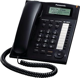 Panasonic KX-TS880B Integrated Corded Telephone,Black