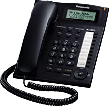 Panasonic KX-TS880B Integrated Corded Telephone,Black