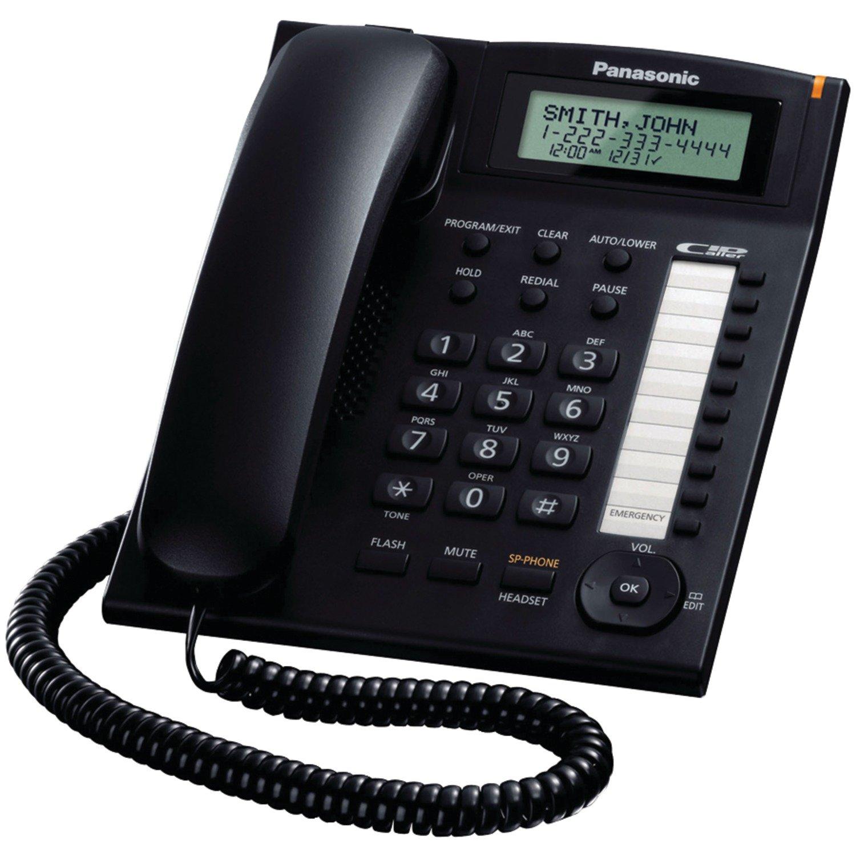 Panasonic KX TS880B Integrated Corded Telephone