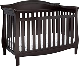 Delta Children Lancaster 4-in-1 Convertible Baby Crib, Dark Chocolate