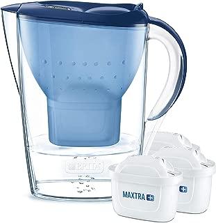 BRITA Marella – Jarra de Agua Filtrada con 3 cartuchos