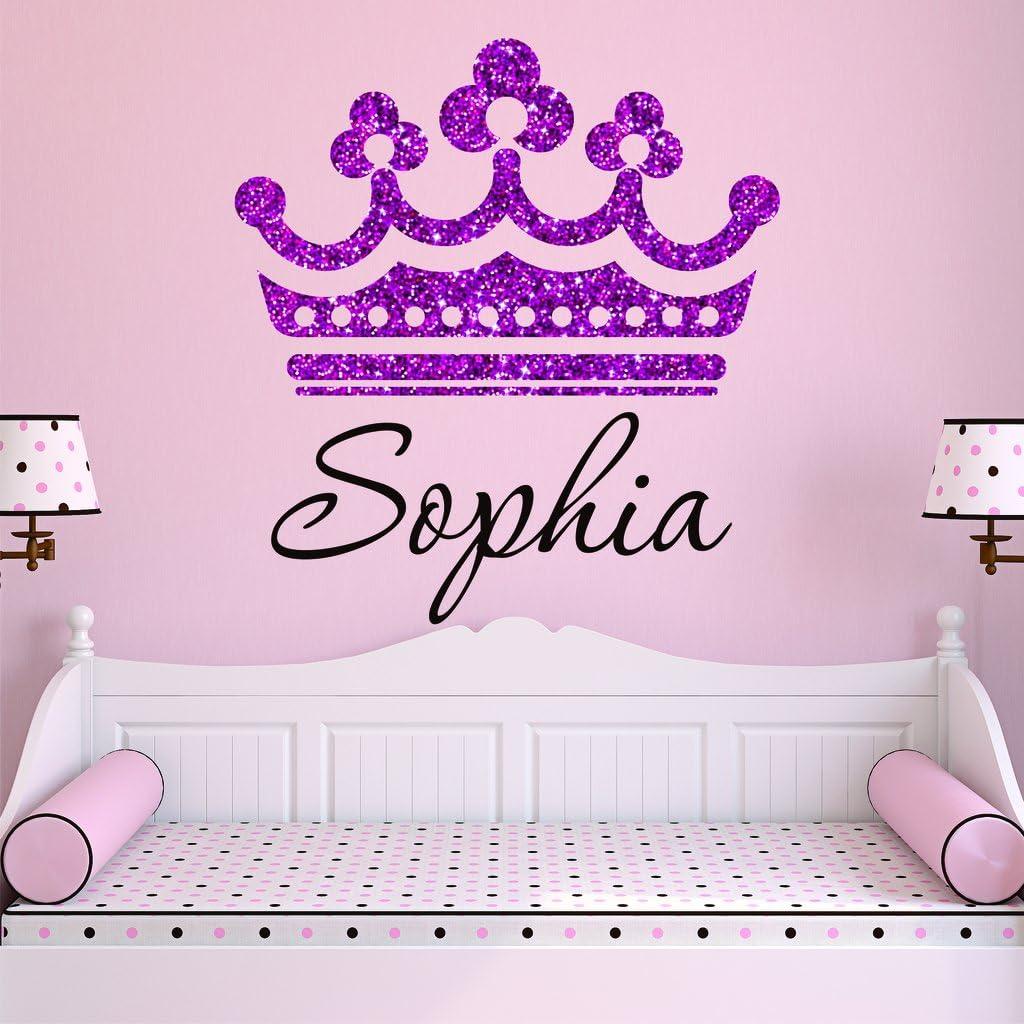 pink princess carriage themed name door sign P2300 girls bedroom nursery decor name plaque