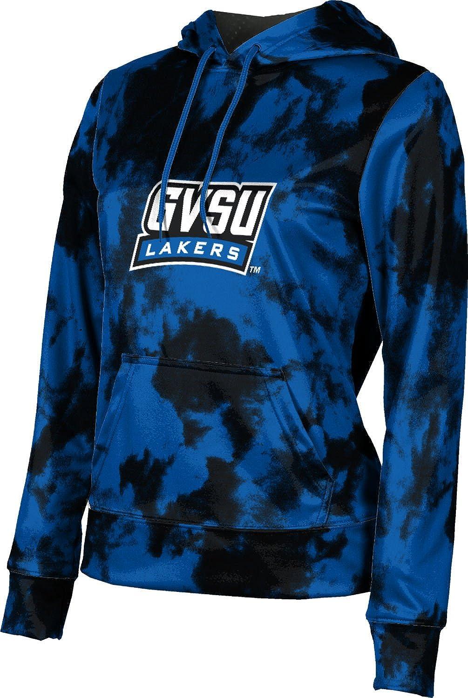 ProSphere Grand Valley State University Girls' Pullover Hoodie, School Spirit Sweatshirt (Grunge)