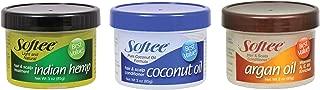 Softee Hair Products - Coconut Oil, Argan Oil, and Indian Hemp 3 oz each