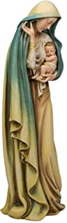 Madonna and Child Jesus Renaissance Collection 18 Inch Resin Stone Statue Figurine