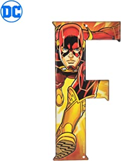 Superhero Letter Metal Wall Decor Marvel and DC Comic Letters (F)