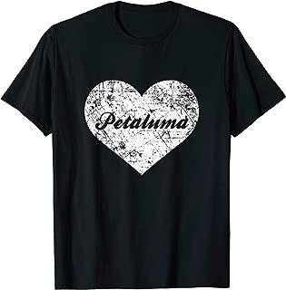 I Love Petaluma Shirt, Funny Cute California Hometown Gift