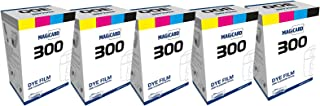 5 x Magicard 300 Printer MC300YMCKO Color Ribbon - YMCKO - 300 Prints with Bodno Software Demo Card