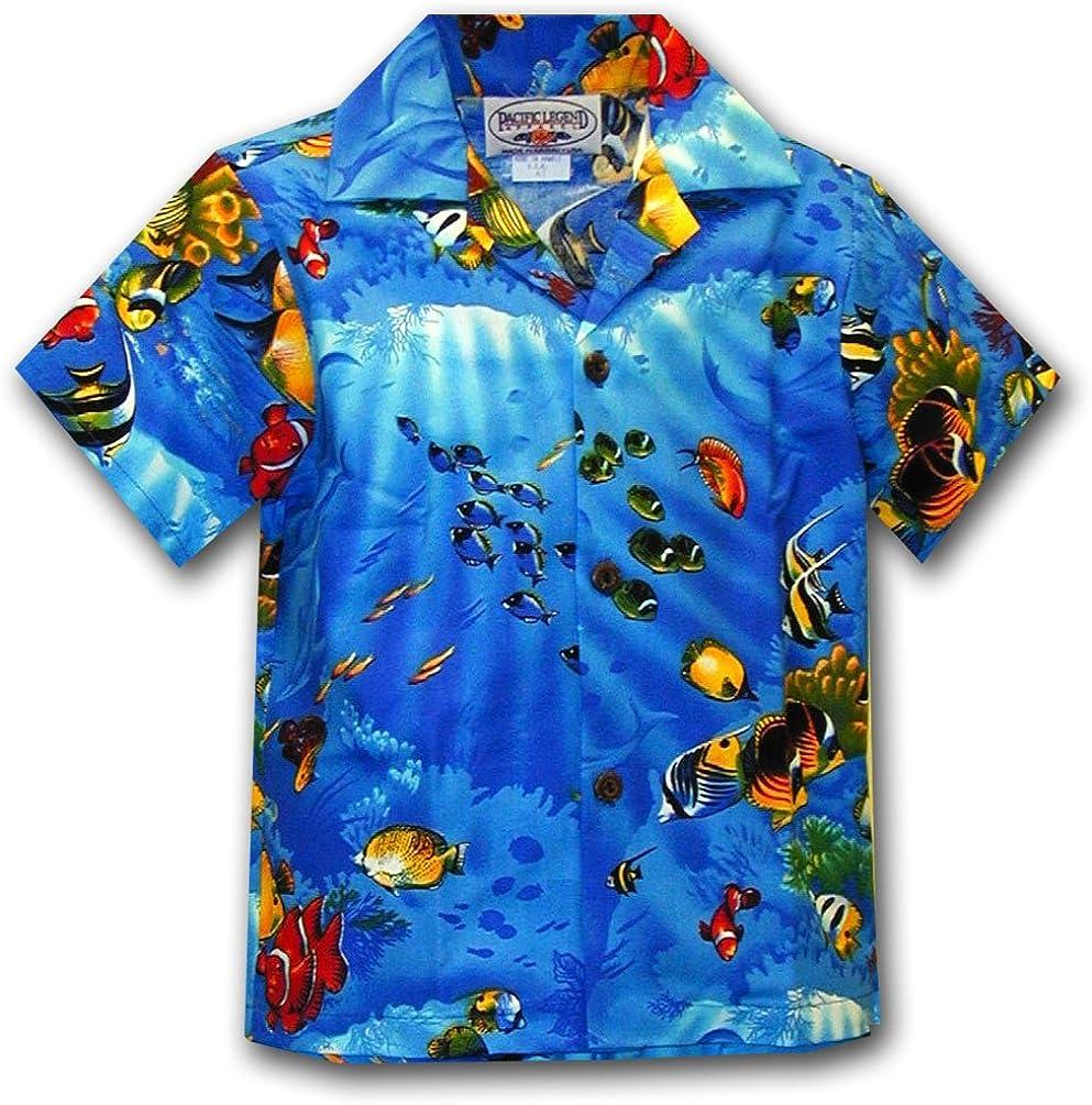 Aloha Fish Boys Tropical Shirts