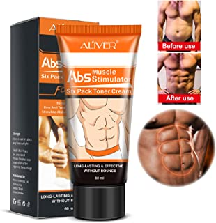 Men's Abdominal Cream Anti Cellulite Cream Fat Burning Body Firming Powerful Abdominal Stronger Muscle Cream Abs Muscle St...