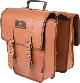 M-Wave Amsterdam Double L Leatherette Pannier Bag