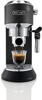 Delonghi EC685.B DEDICA 15-Bar Pump Espresso Machine Coffee Maker, Black, 220 Volts (Not for USA - European Cord)