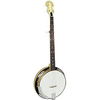 Gold Tone CC-100R Cripple Creek Banjo with Resonator (Five String, Clear Maple)