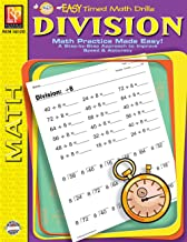 Easy Timed Math Drills: Division | Reproducible Activity Book