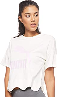 Puma Scallop Tee Whisper Shirt For Unisex